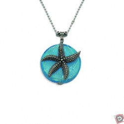 Feifish Silverdescent Starfish Necklace