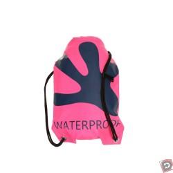 Gecko Waterproof Backpack - Pink/ Navy