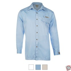 Image from Hook & Tackle Men's Bug X Long Sleeve Fishing Shirt with Insect Repellent