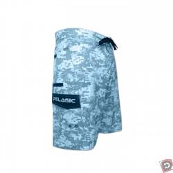 Pelagic Ambush Board Shorts Blue - Side