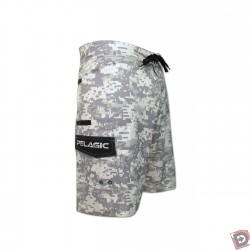 Pelagic Ambush Board Shorts Grey - Side