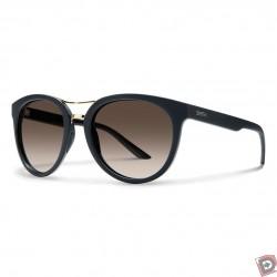 90a6bb404a Smith Bridgetown Sunglasses with Matte Black Frames   Polarized Brown  Gradient Lenses