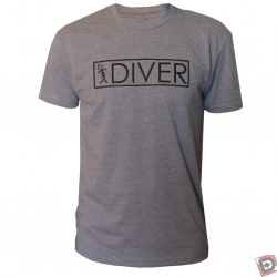 Diver T Shirt by Speared Apparel