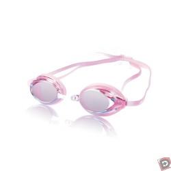 Speedo Womens Vanquisher Mirror Goggle - Pink