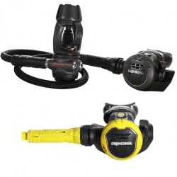 Image from Apeks Flight Stage 3 Scuba Regulator & Octo - Pewter