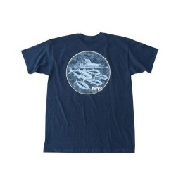 Image from Riffe Striker Short-Sleeve T-Shirt (Men's) - Navy Blue