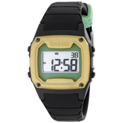 Image from Freestyle Shark Classic LCD Dive Watch - Black/Yellow