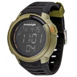 Image from Freestyle Mariner Sail Waterproof Digital Watch - Dark Green/Black