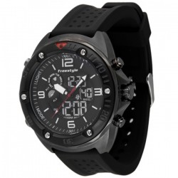 Image from Freestyle Precision 2.0 Digital/Analog Dive Watch - Gun