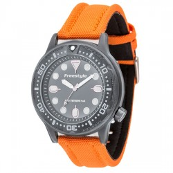 Image from Freestyle Ballistic Diver Analog Dive Watch (Men's) -- Orange
