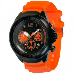 Image from Freestyle Hammerhead XL 50mm Analog Dive Watch (Men's) - Orange/Black