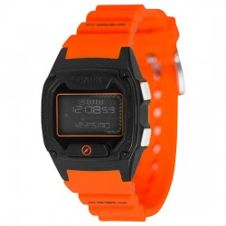 Image from Freestyle Shark Skin Diver LCD Dive Watch (Unisex) - Orange/Black