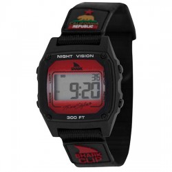 Image from Freestyle Shark Classic Clip Dive Watch (Unisex) -- Black/Red