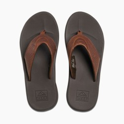 Image from Reef Rover LE Leather Athletic Sandals (Men's) - bronze