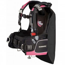 Image from ScubaPro Ladyhawk Back Inflation BCD with Balanced Inflator (Women's)