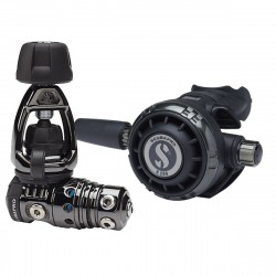 Image from ScubaPro MK25 EVO BT/G260 Technical Dive Regulator System - Black Tech