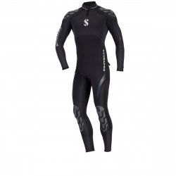 Image from ScubaPro 3/2MM Everflex Rear-Zip Full Steamer Wetsuit (Men's)