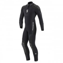 Image from ScubaPro 7/5 MM Everflex Rear-Zip Full Steamer Wetsuit (Men's)