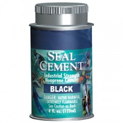 Image from Aquaseal Cement 4oz Black
