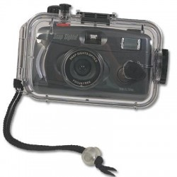 Image from Underwater 35mm Film Camera with Flash