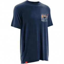 Image from Huk KC Scott Pocket Tee Short-Sleeve Performance T-Shirt (Men's)