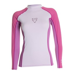 Image from EVO Women's Long Sleeve UV Rash Guard - 2017