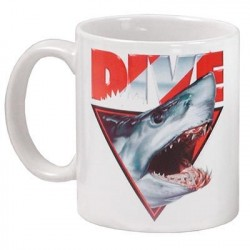 Image from Shark Head Coffee Mug