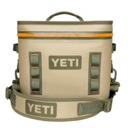 Image from Yeti Hopper Flip 12 Rectangular Soft Cooler - Tan/Orange