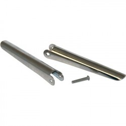 Image from 2 - 2 Inch Stainless Barbs with Rivet