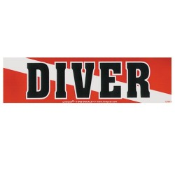 Image from Diver Bumper Sticker