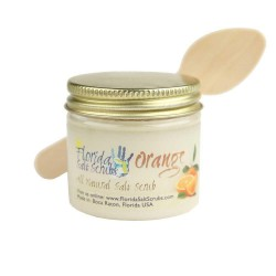 Image from Florida Salt Scrubs Orange 2oz Jar