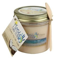 Image from Florida Salt Scrubs Coconut 16oz Jar