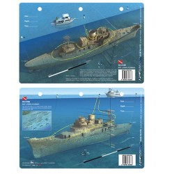 Image from Duane Dive Map Card