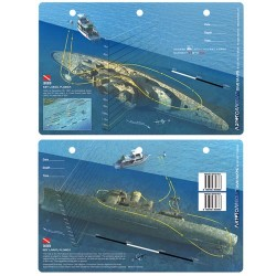 Image from Bibb Dive Map Card
