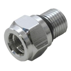 "Image from 3/8"" Female to 1/2"" Male Low Pressure Hose Adapter"
