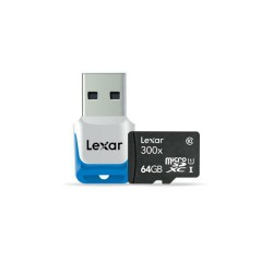 Image from Lexar 64GB High Performance Micro SD
