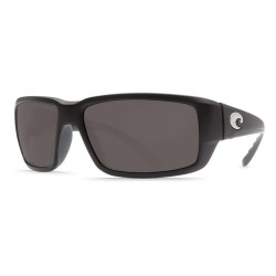 Image from Costa Del Mar Fantail Sunglasses - Black/Grey