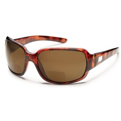 Image from Suncloud Cookie Tortoise Brown Sunglasses +2.50