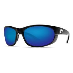 Image from Costa Del Mar Howler Sunglasses Black Frames/ Blue Lenses