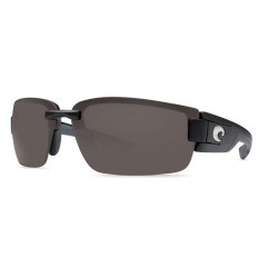 Image from Costa Del Mar Rockport Sunglasses Black with Grey Lenses