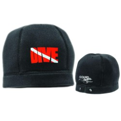 Image from Neoprene Watch Cap Beanie Black