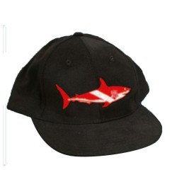 Image from Shark Dive Flag Hat