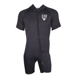 Image from Evo Unisex 3mm Front Zip Shorty Wetsuit