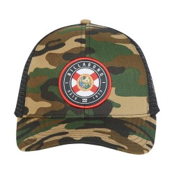 Image from Billabong Native Rotor Camo Trucker Hat (Men's) - Florida