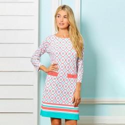 Image from Cabana Life 2 Pocket Shift Dress (Women's) - Lighthouse Harbor