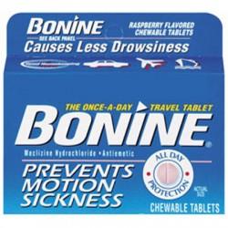 Image from Bonine Motion Sickness Prevention