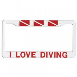 Image from Scuba Diving License Plate Frames
