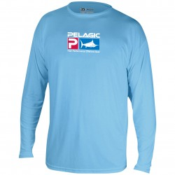 Image from PELAGIC AquaTek UPF 50+ Long Sleeve Sunshirt (Men's)