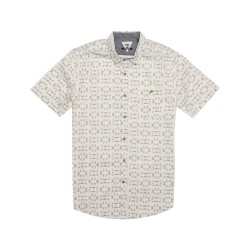 Image from Vissla Thresher Woven Button-Down Short-Sleeve Shirt (Men's)