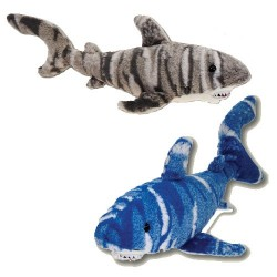 Image from Plush 17 inch Camo Shark